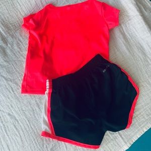 Girl's Nike Dri-Fit Short Set